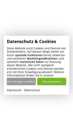 Vorschau der mobilen Webseite www.tgo-online.de, Technologie- und Gründerzentrum Oldenburg