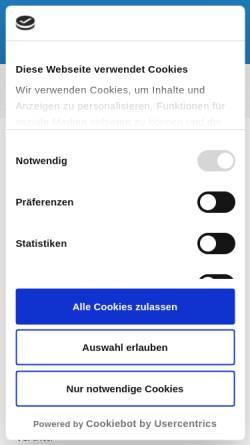 Vorschau der mobilen Webseite www.ruessmann-bensheim.de, Dr. Bernd Rüßmann