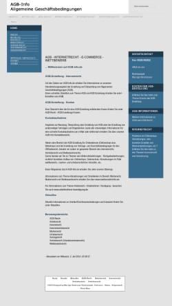 Vorschau der mobilen Webseite www.agb-info.de, Thole & Breitmoser