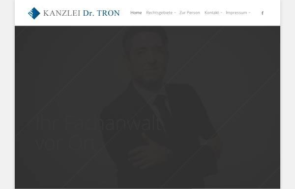 Vorschau von www.kanzlei-tron.de, Tron Marco