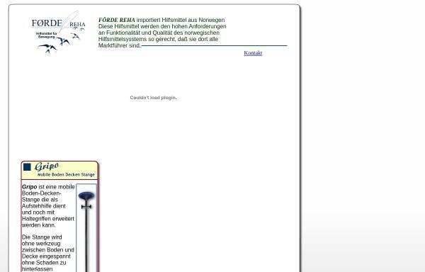 Vorschau von www.foerde-reha.de, Hilfsmittel für Bewegung