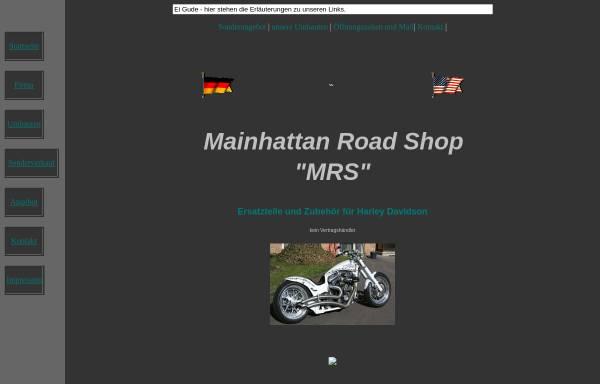 Vorschau von www.mrs.de, Harley Davidson - Mainhattan Road Shop
