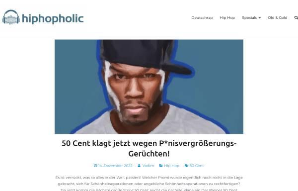 Vorschau von hiphopholic.de, HipHopHolic - All About Hip Hop