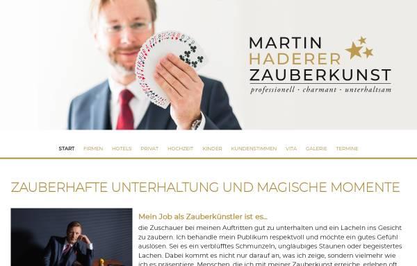 Vorschau von www.sim-sala-bim.at, Martin Haderer