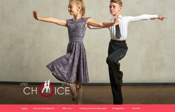 Vorschau von www.tsc-choice.at, Union Tanzsportclub Choice Graz