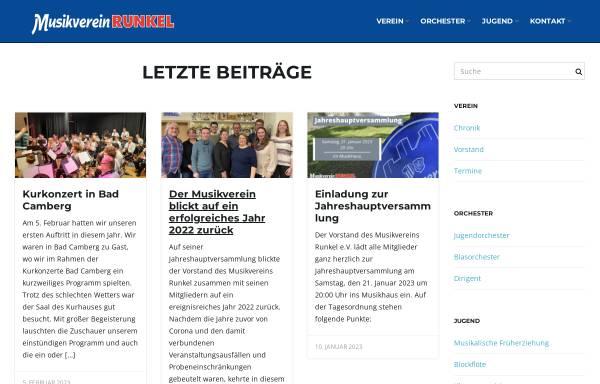 Vorschau von www.mvrunkel.de, Musikverein Runkel e.V.