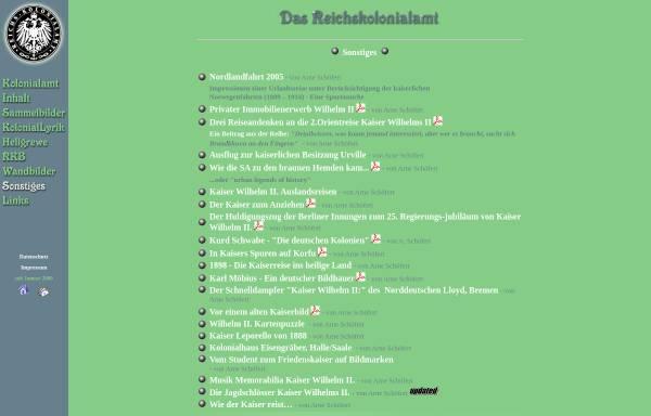 Vorschau von www.schoefert.de, Nordlandfahrt 2005 [Arne Schöfert]