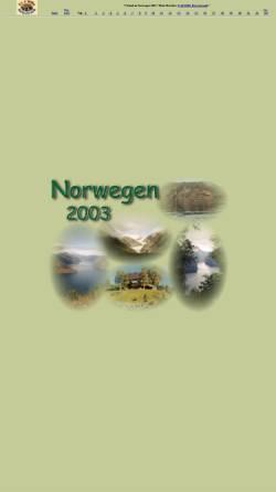 Vorschau der mobilen Webseite www.etwilli.de, Reisechronik Norwegen 2003 [Evi & Willi Schulze]