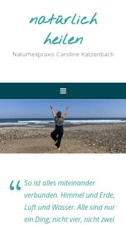 Vorschau der mobilen Webseite www.natuerlich-heilen.net, Natürlich Heilen