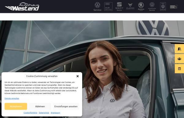 Vorschau von www.autohaus-westend.de, Autohaus Westend