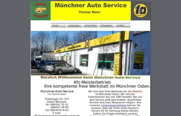 Vorschau von www.muenchner-auto-service.de, MAS Münchner Auto Service