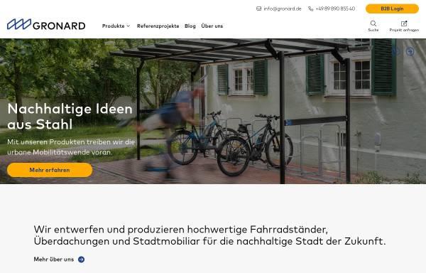 Vorschau von www.gronard.de, Gronard Schweisswerk-Stahlbau GmbH