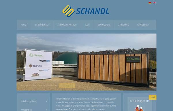 Vorschau von www.schandl.de, Schandl GmbH