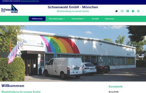 Vorschau von www.schoenwaldgmbh.de, Schoenwald GmbH