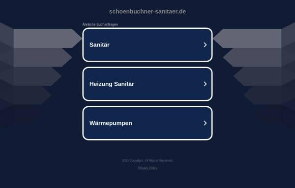 Vorschau von www.schoenbuchner-sanitaer.de, Schönbuchner Sanitär