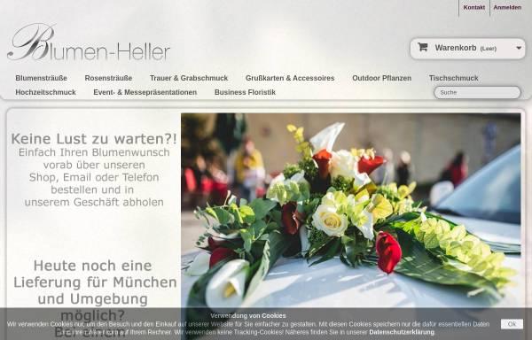 Vorschau von www.blumen-heller.de, Blumen Heller