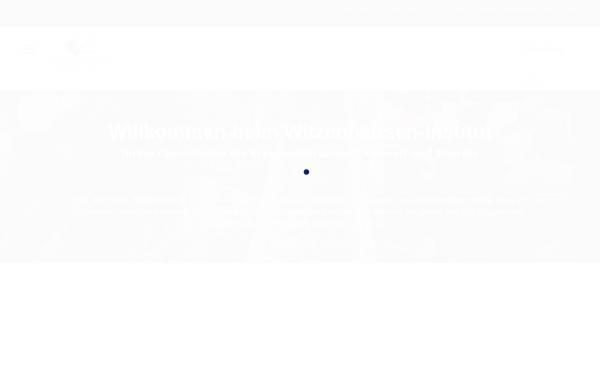 Vorschau von www.witzenhausen-institut.de, Witzenhausen-Institut für Abfall, Umwelt und Energie GmbH