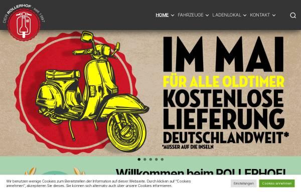 Vorschau von www.der-rollerhof.de, Der Rollerhof