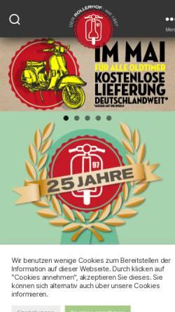 Vorschau der mobilen Webseite www.der-rollerhof.de, Der Rollerhof