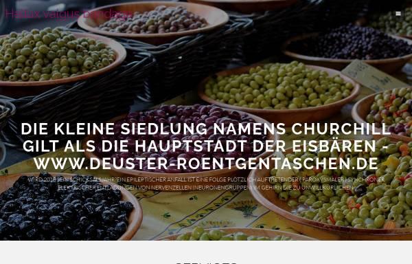Vorschau von www.deuster-roentgentaschen.de, Deuster Roentgentaschen, Inh. Nada Fransen