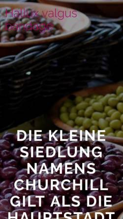 Vorschau der mobilen Webseite www.deuster-roentgentaschen.de, Deuster Roentgentaschen, Inh. Nada Fransen
