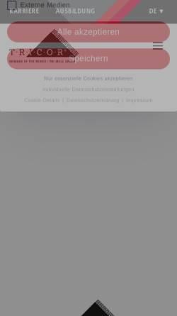 Vorschau der mobilen Webseite www.mueller-verpackungen.de, Müller GmbH & Co. KG