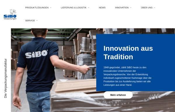 Vorschau von www.sibo.com, SiBO Verpackungen Bernd Hesse GmbH & Co. KG