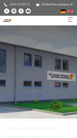 Ws Coswiger Wellpapper Und Papierverarbeitung Gmbh In Coswig Anhalt