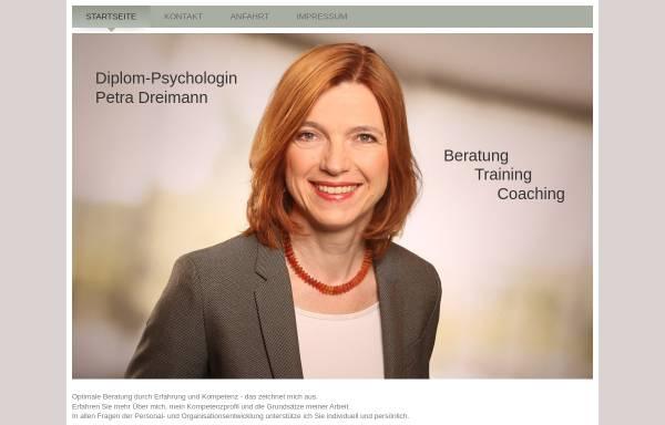 Vorschau von www.petra-dreimann.de, Petra Dreimann - Team für Personal- und Organisationentwicklung