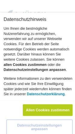 Vorschau der mobilen Webseite www.fuelcells.de, Brennstoffzellen