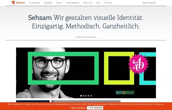 Vorschau von www.sehsam.de, Sehsam