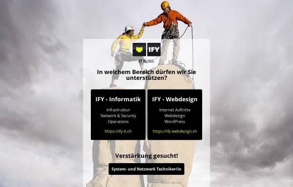 Vorschau von www.ify.ch, Internet Factory, Sarnen