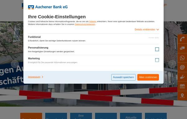 Vorschau von www.aachener-bank.de, Aachener Bank eG