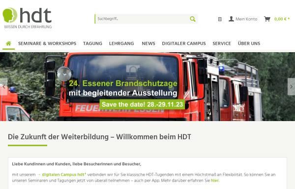 Vorschau von www.hdt.de, Haus der Technik e.V.