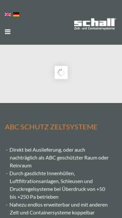 Vorschau der mobilen Webseite www.colpro.de, M. Schall GmbH & Co. KG