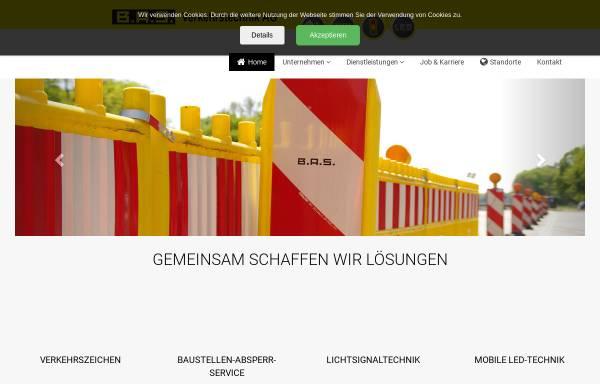Vorschau von www.bas-verkehr.de, B.A.S. Verkehrstechnik AG