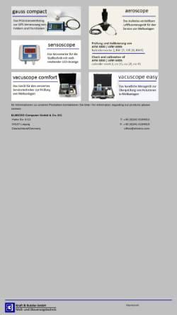 Vorschau der mobilen Webseite www.kraftundbutzke.de, Kraft und Butzke GmbH
