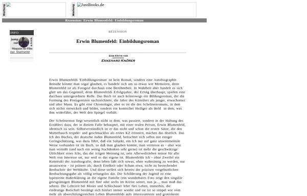 Vorschau von www.jump-cut.de, Blumenfeld, Erwin (1897-1969)