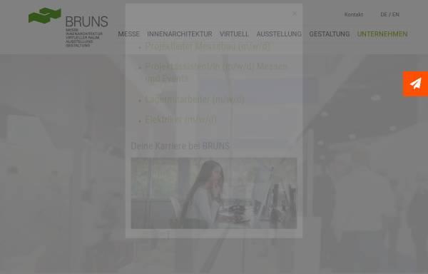 Bruns Messebau bruns messe- und ausstellungsgestaltung gmbh in münchen: deutschland