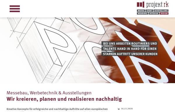 Vorschau von projektrk.de, Projekt RK
