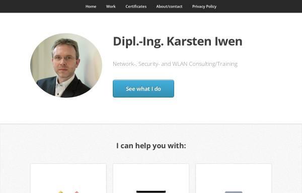 Vorschau von www.iwen.de, Dipl.-Ing. Karsten Iwen, CCIE