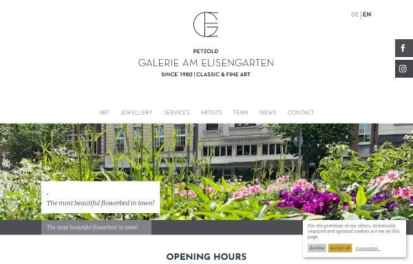 Vorschau von www.galerie-am-elisengarten.de, Galerie Am Elisengarten GmbH