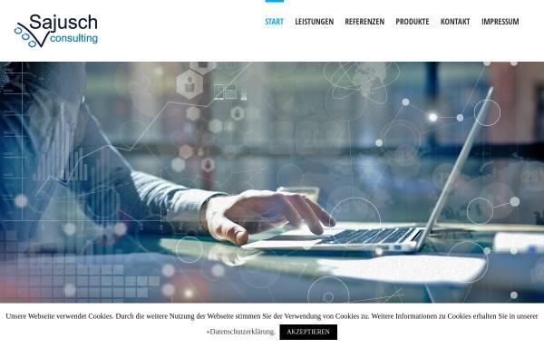 Vorschau von www.edv-beratung-sajusch.de, EDV Beratung Sajusch und Partner