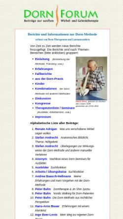 Vorschau der mobilen Webseite www.dorn-forum.info, Dorn-Forum