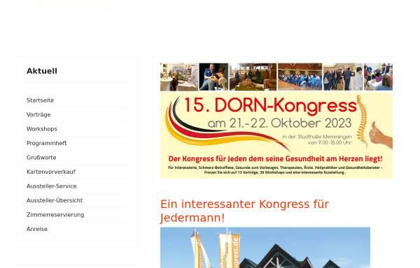 Vorschau von www.dorn-kongress.de, Dorn-Kongress
