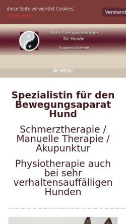 Vorschau der mobilen Webseite www.dorn-therapiezentrum.de, Dorn-Therapiezentrum