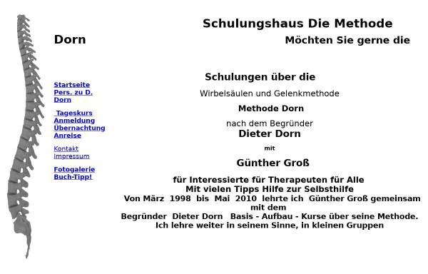 Vorschau von www.dorn-gross.de, Schulungshaus Dorn-Gross