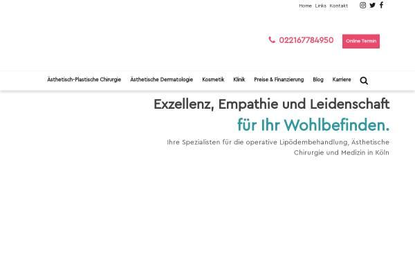 Vorschau von www.beethoven5-13.com, beethoven5. 13 Klinik Köln GmbH & Co. KG