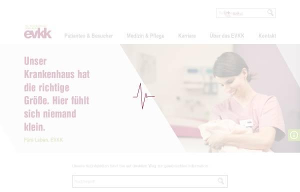 Vorschau von www.evkk.de, Evangelisches Krankenhaus Kalk gGmbH