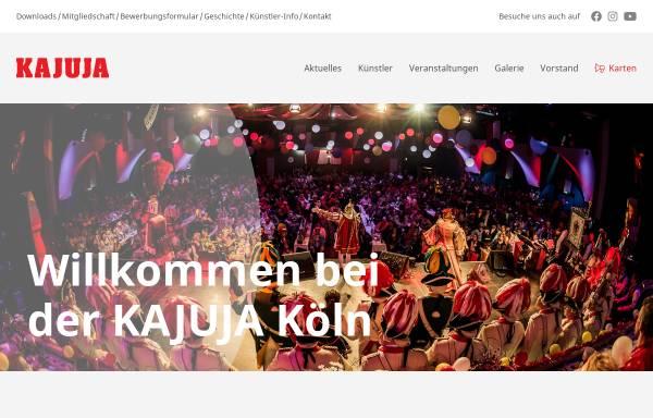 Vorschau von kajuja.de, KAJUJA-Köln Trägerverein e.V.